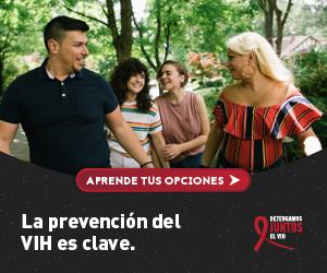 Aprende tus opciones. La prevención del VIH es clave. Detengamos Juntos el VIH.