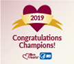 Congratulations 2019 Million Hearts Hypertension Control Champions!