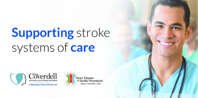 Supporting stroke systems of care.