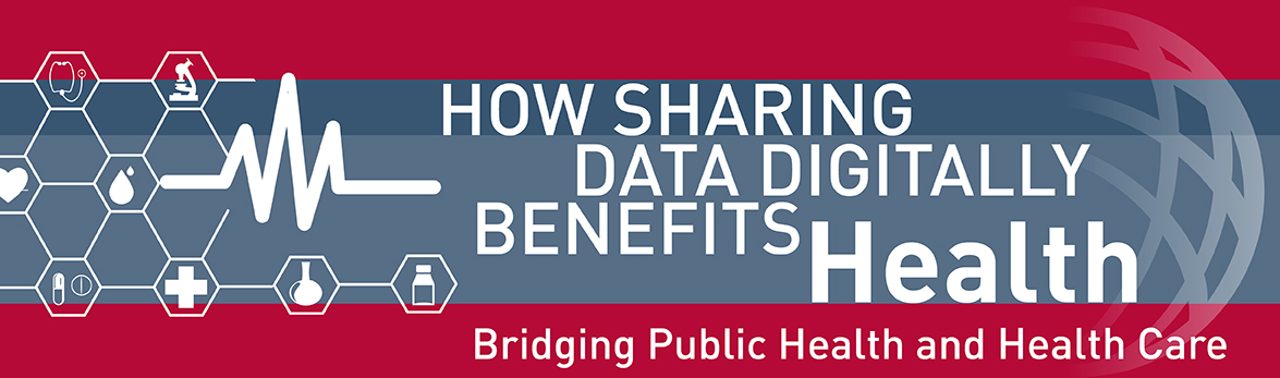 How sharing data digitally benefits health. Bridging public health and health care
