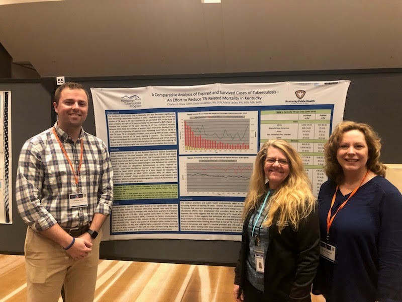 KY TB Program Staff presenting at the 2019 National TB Controller Association Annual Conference in Atlanta, GA.
