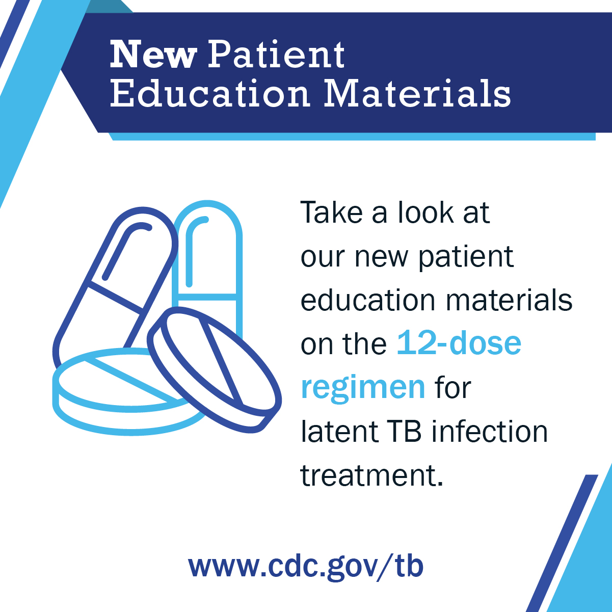 New Patient Education Materials