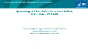 Epidemiology of Tuberculosis in Correctional Facilities, United States, 1993–2014