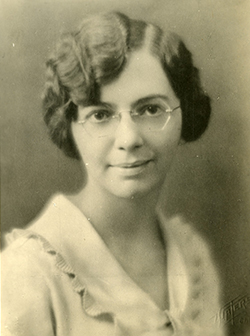 Image of Florence Seibert, PhD.  Courtesy of The Smithsonian Institution Archives.