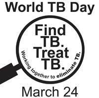 CDC World TB Day Web Graphic Black and White