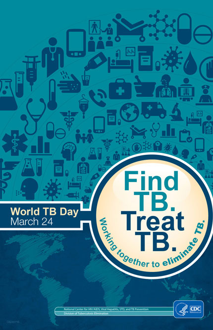 Image of World TB Day Poster - Stop TB: In My Generation