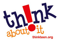 Alabama: ThinkTeen logo