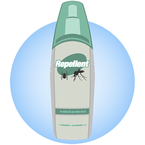 Image of can of insect repellent