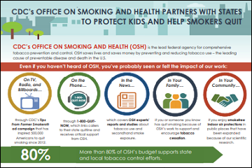 OSH Partners with states fact sheet