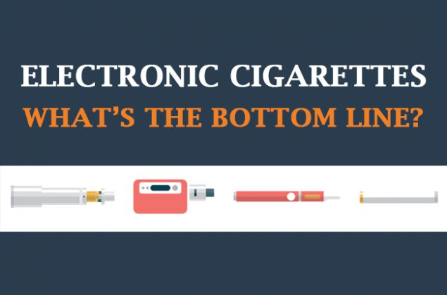 Electronic Cigarettes - What's the bottom line?