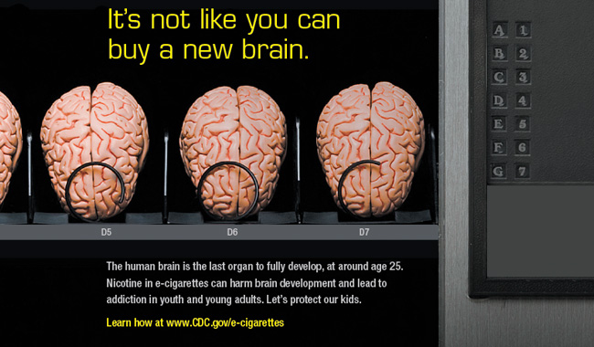New Brain Print Ad