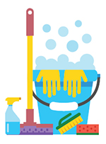 Cleaning supplies image