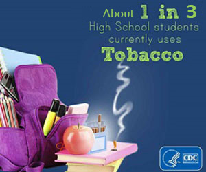 About 1 in 3 High School students currently uses Tobacco