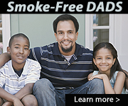 Smoke-Free Dads. Learn more….
