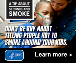 Don't be shy about telling people not to smoke around your kids.