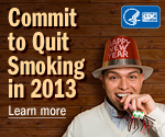 Quit smoking in 2013 - New Year Resolutions