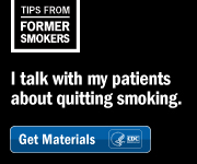 A Tip from a Former Smoker: I talk with my patients about quitting smoking.