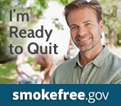 I'm ready to quit. Smokefree.gov.