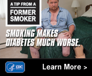 A Tip from a Former Smoker: Smoking makes diabetes much worse.
