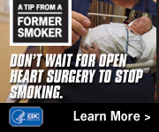 A Tip from a Former Smoker: Don't wait for open heart surgery to stop smoking.