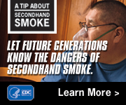 A Tip from a Former Smoker: Let future generations know the dangers of secondhand smoke.