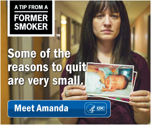 A Tip from a Former Smoker: Some of the reasons to quit are very small.