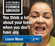 A Tip From a Former Smoker: You think a lot about your teeth when you dont have any. Learn more.