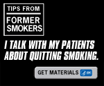 A Tip from a Former Smoker: I talk with my patients about quitting.