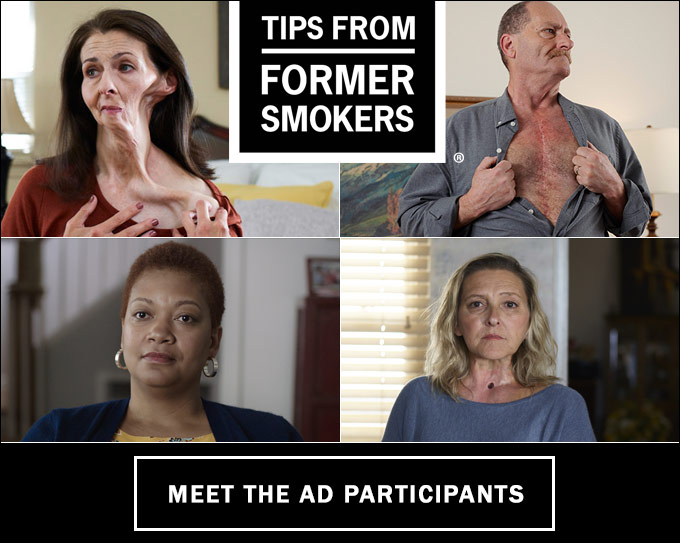 Meet the Ad Participants - Tips from Former Smokers