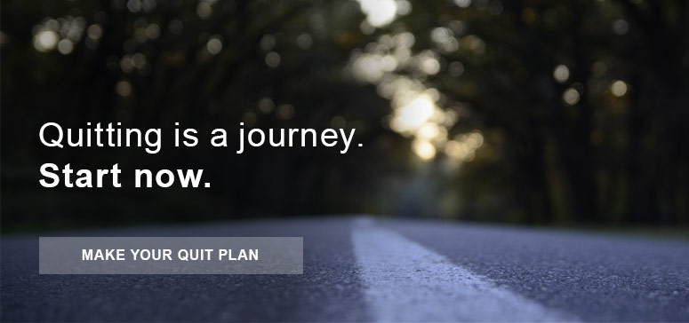 Quitting is a journey. Start now.