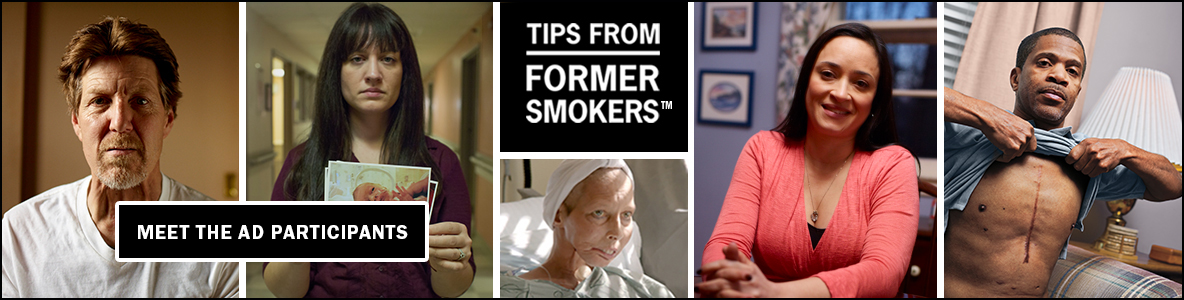 Tips from Former Smokers: Meet the Ad Participants