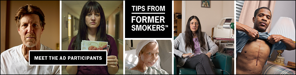 Tips From Former Smokers TM Meet the Ad Participants
