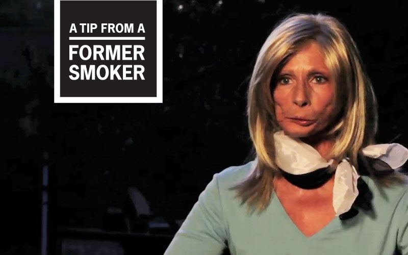 Terrie's Story - A Tip From A Former Smoker