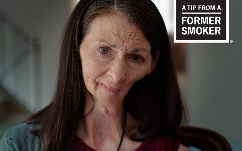 Christine - Oral Cancer Effects - A Tip From a Former Smoker