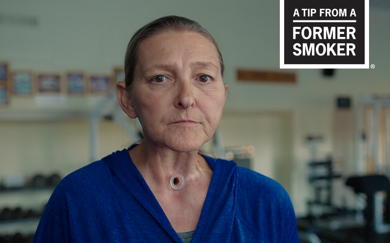"Sharon's ""Treadmill"" Tips Commercial - A Tip From A Former Smoker"