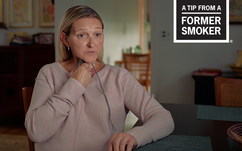 Sharon's Diagnosed at 37 Story - A Tip From a Former Smoker