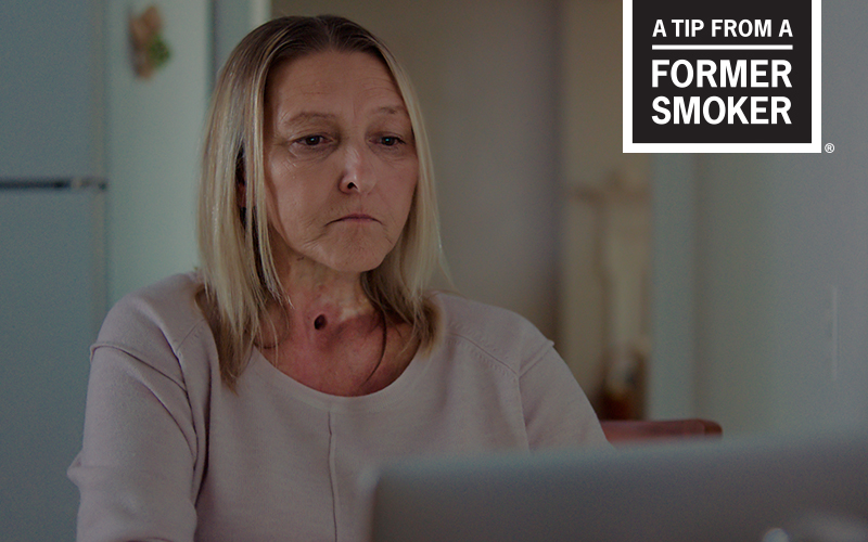 Sharon's Peer Pressure Story -  A Tip From a Former Smoker