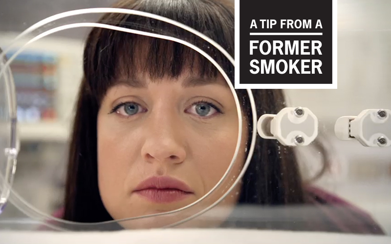 Amanda's Tips Commercial - A Tip From a Former Smoker