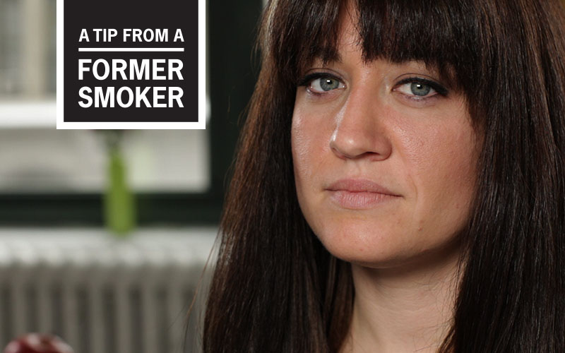 "Amanda's ""Smoking, Family, and Pain"" Story - A Tip From a Former Smoker"