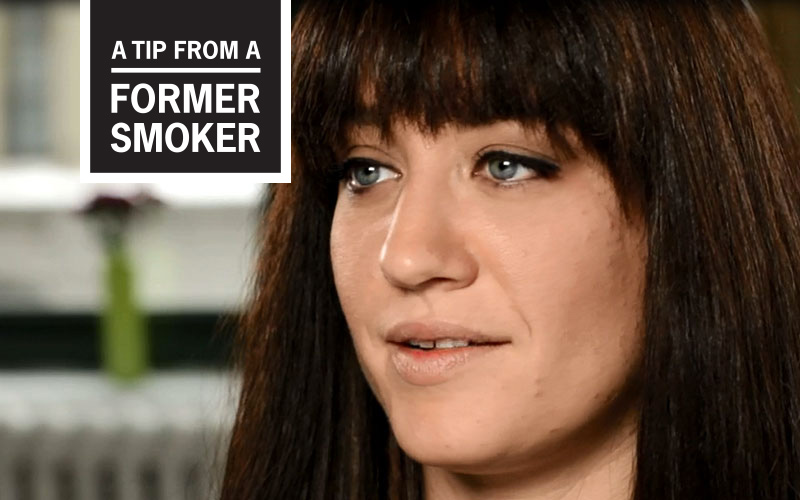 Amanda's Story - A Tip From a Former Smoker