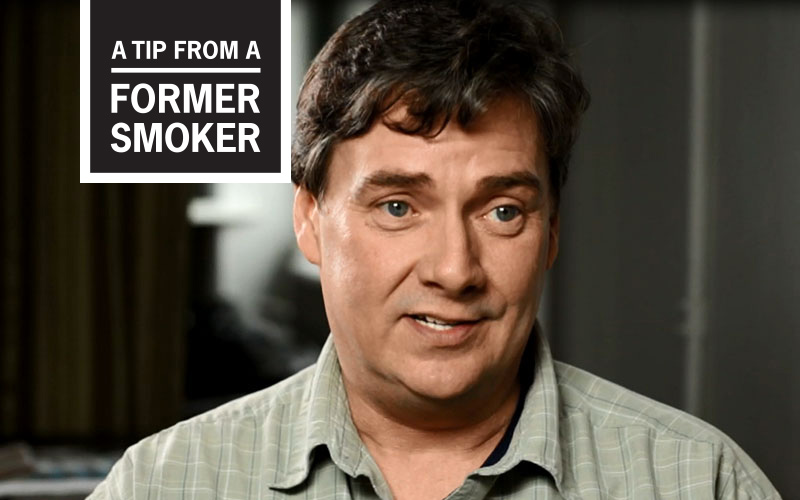 Brett's Story - A Tip From a Former Smoker