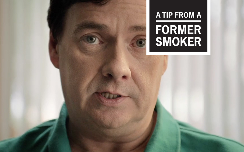 Brett's Tip Ad - A Tip From a Former Smoker