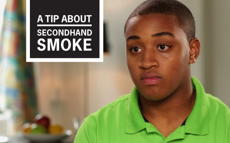 "Jamason's ""I Didn't Know Why I Couldn't Breathe"" Story - A Tip About Secondhand Smoke"