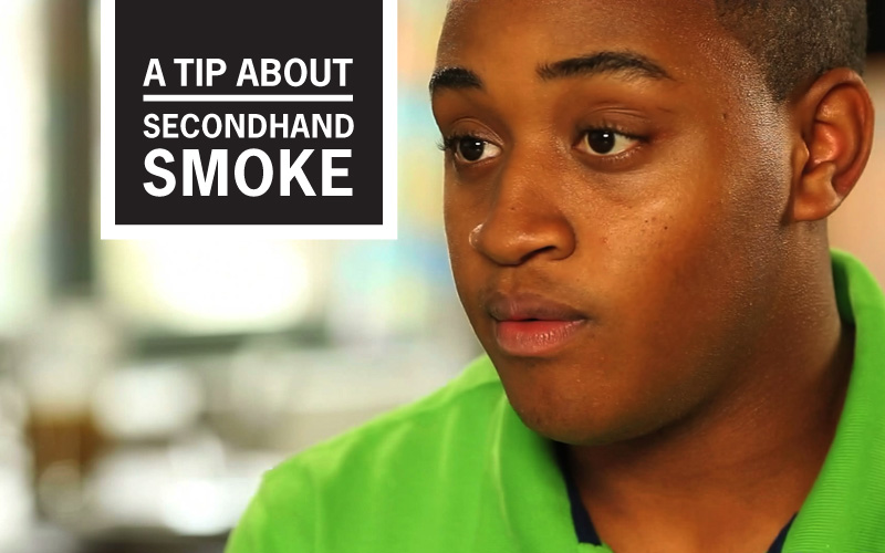 "Jamason's ""Please Don't Smoke Near Me"" Story - A Tip About Secondhand Smoke"