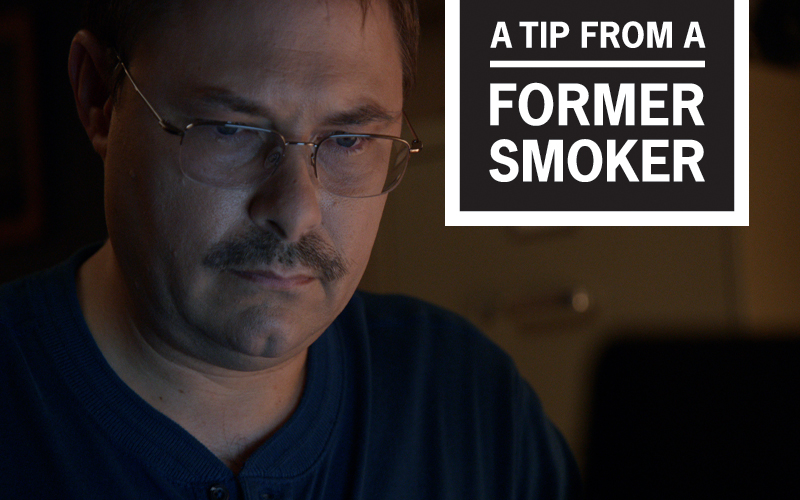 "Mark's ""Military Service and Illness"" Story - A Tip From a Former Smoker"