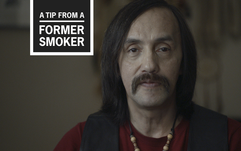 Michael's 'COPD and Smoking' <em>Tips</em> Commercial