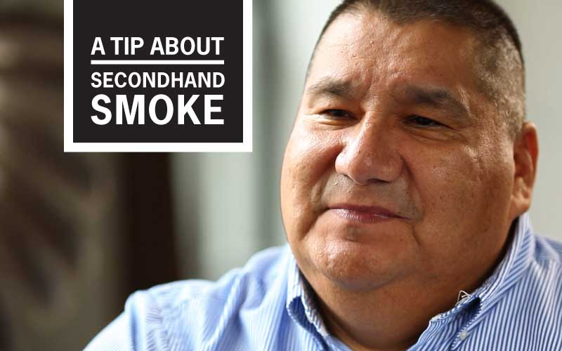 "Nathan's ""I never smoked a day in my life!"" Story - A Tip About Secondhand Smoke"