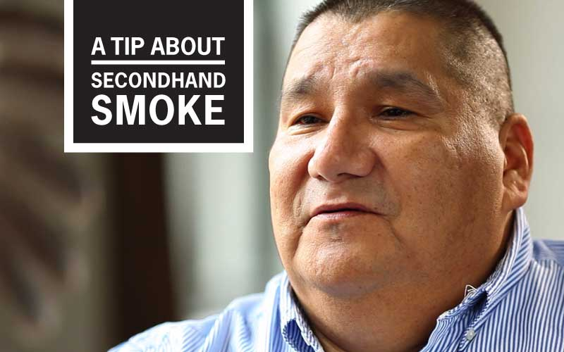 "Nathan's ""Sidelined by Other People's Smoke"" Story - A Tip About Secondhand Smoke"