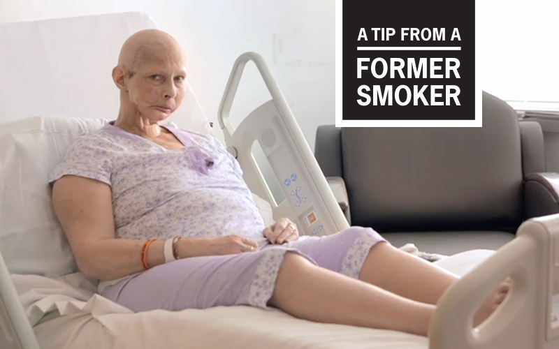 "Terrie's ""Don't Smoke"" Tips Commercial - A Tip From A Former Smoker"