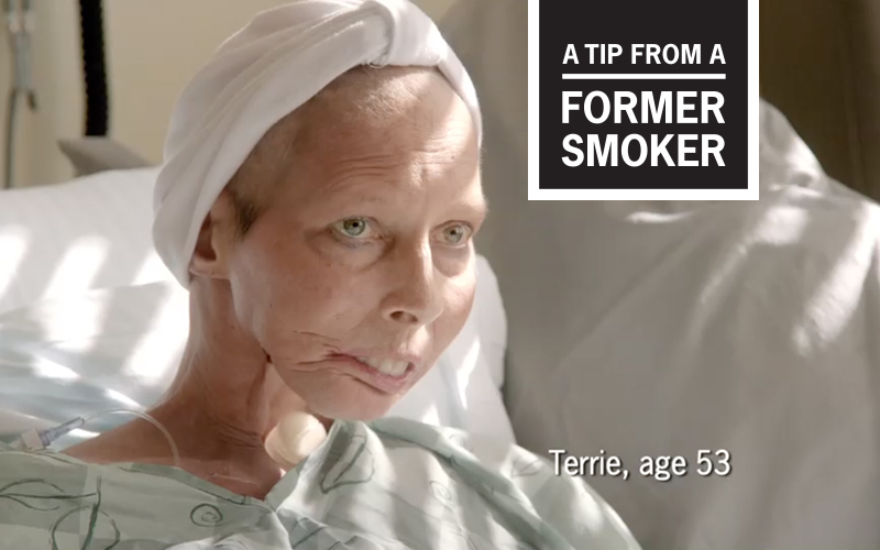 "Terrie's ""Surgeon General"" Tips Commercial - A Tip From A Former Smoker"